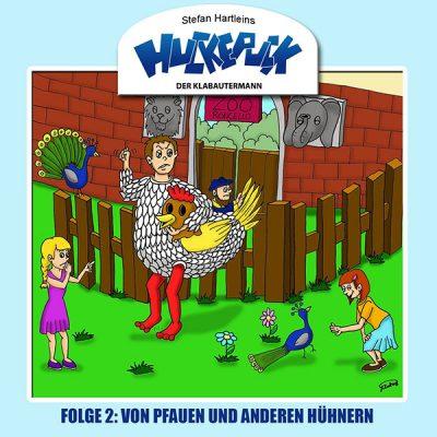 Huckepuck - Der Klabautermann - Folge 2: Von Pfauen und anderen Hühnern